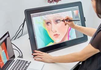 Wacom Cintiq 22 tablet da disegno professionale