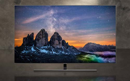 samsung smart tv 65 pollici q74t