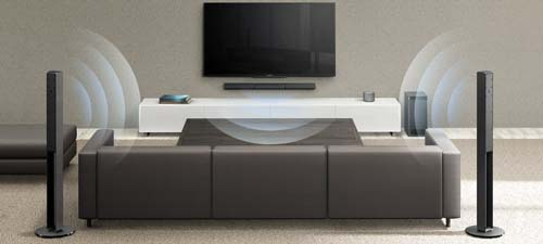 Sony HT-RT4 sistema home theatre 5.1