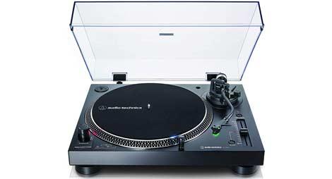 impianto stereo con giradischi audio technica lp120x