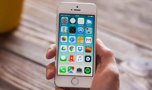smartphone apple iphone SE 8