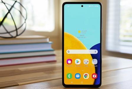 smartphone samsung 400 euro galaxy a52