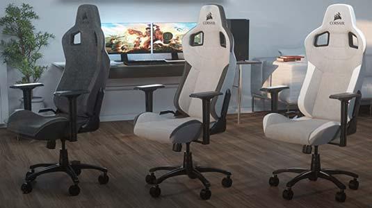 corsair t3 sedia gaming traspirante