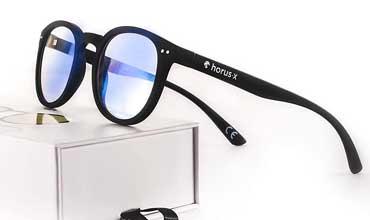 horux x occhiali filtro luce blu