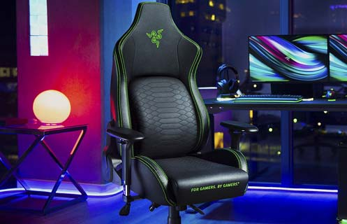 migliore sedia da gaming Razer Iskur