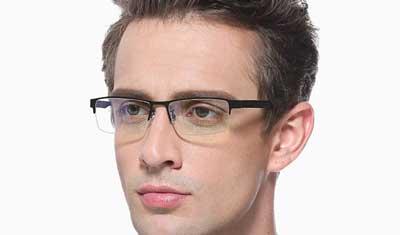 occhiali per PC anti luce blu Cyxus